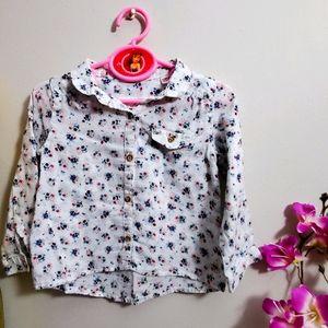 Zara BabyGirl Collection Buttondown Shirt